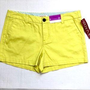 NWT Merona Lime Juice Shorts Size 6